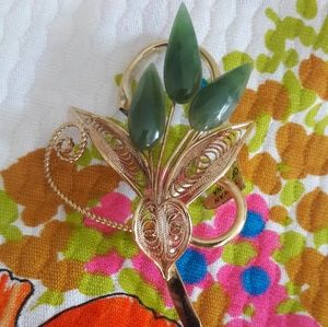 EXQUISITE VINTAGE UNWORN BROOCH NWT!